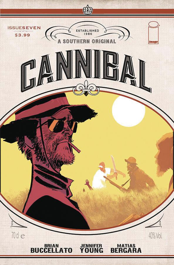 CANNIBAL #7 (MR) COVER