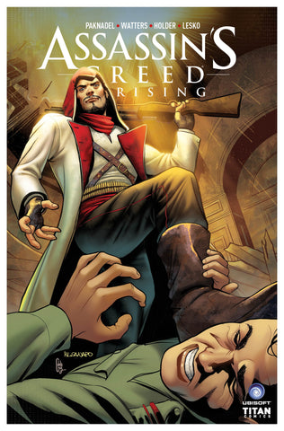 ASSASSINS CREED UPRISING #8 CVR C SANAPO COVER