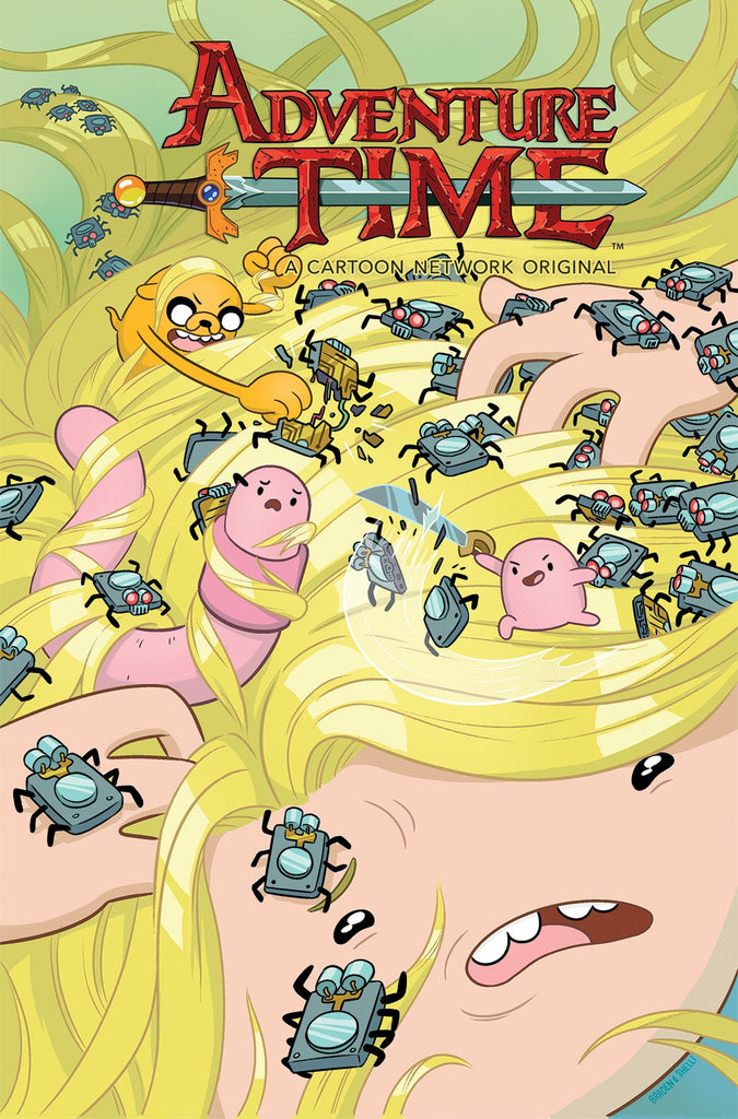 ADVENTURE TIME #67 COVER