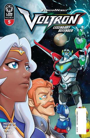 VOLTRON LEGENDARY DEFENDER VOL 2 #5 COVER