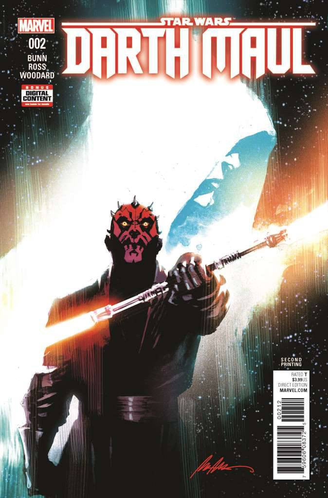 STAR WARS DARTH MAUL #2 (OF 5) ALBUQUERQUE 2ND PTG VAR COVER