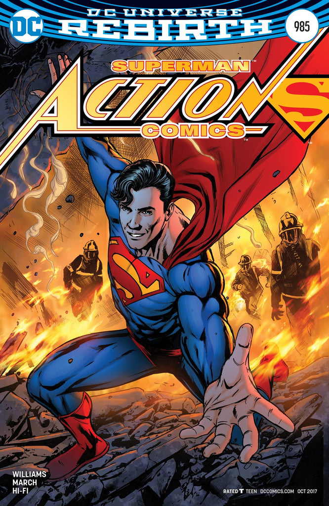 ACTION COMICS #985 VAR ED COVER