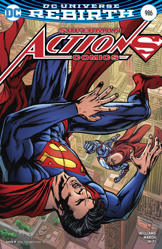 ACTION COMICS #986 VAR ED COVER