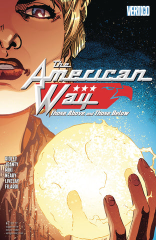 AMERICAN WAY THOSE ABOVE AND BELOW #2 (OF 6) (MR) COVER