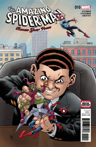 AMAZING SPIDER-MAN RENEW YOUR VOWS #10 COVER