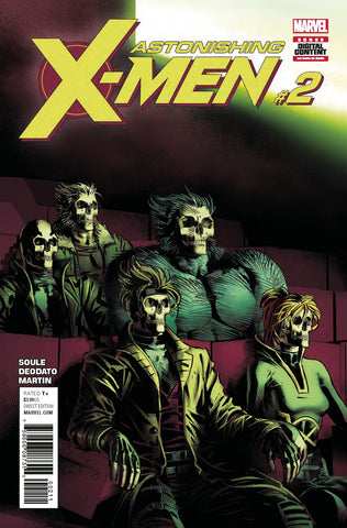 ASTONISHING X-MEN #2 COVER