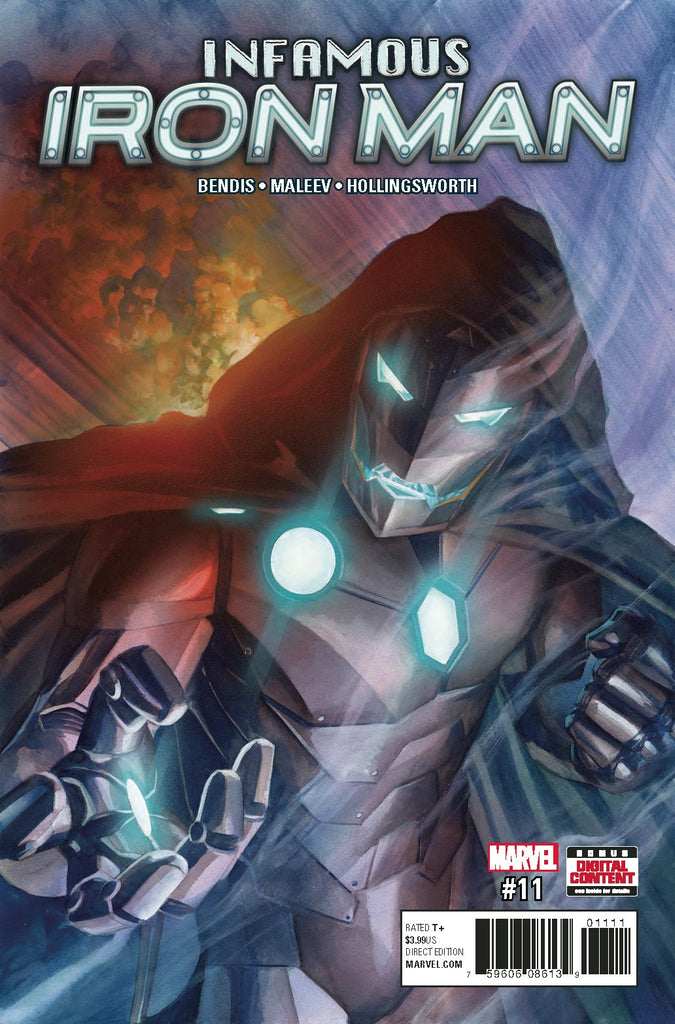 INFAMOUS IRON MAN #11 COVER