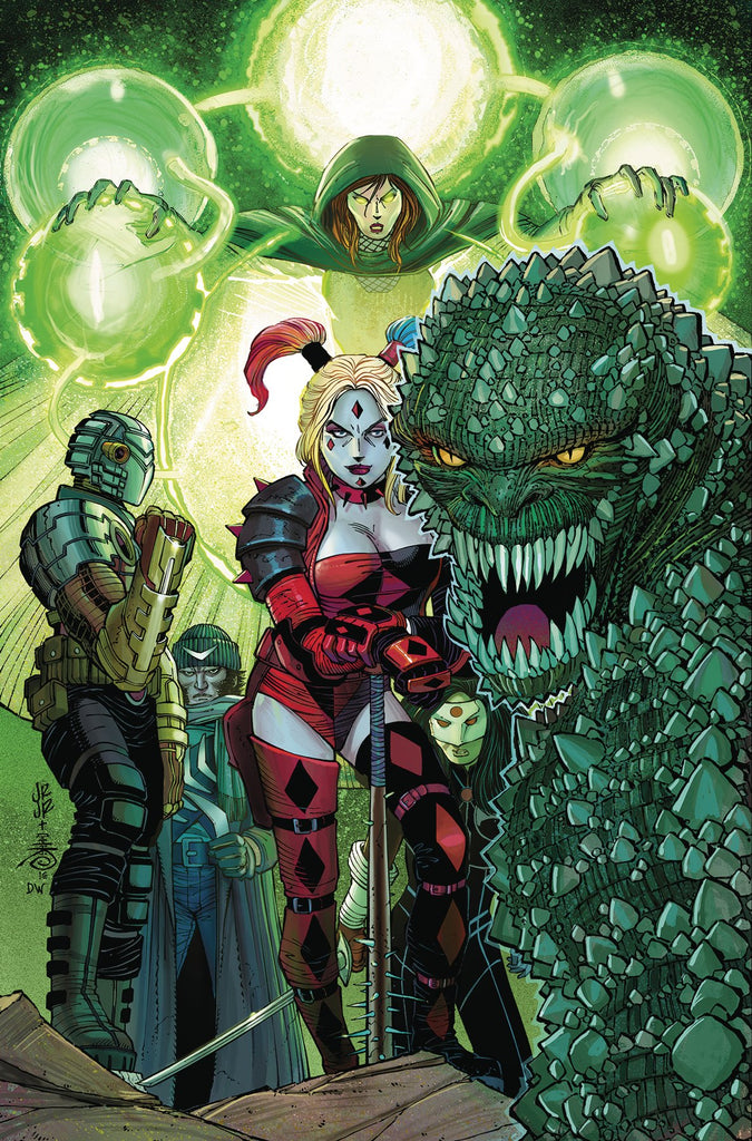 SUICIDE SQUAD TP VOL 03 BURNING DOWN THE HOUSE (REBIRTH) COVER