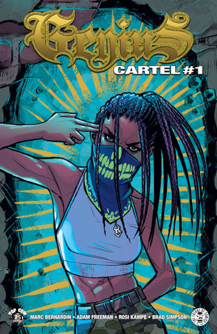 GENIUS CARTEL #1 (OF 5) (MR) COVER