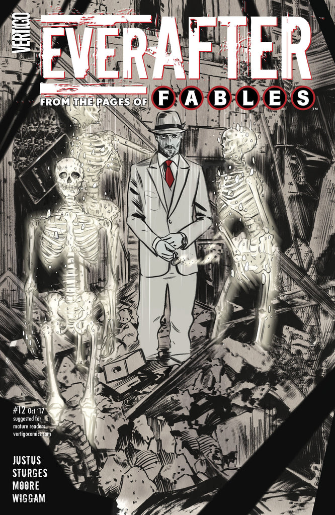 EVERAFTER FROM THE PAGES OF FABLES #12 (MR) COVER