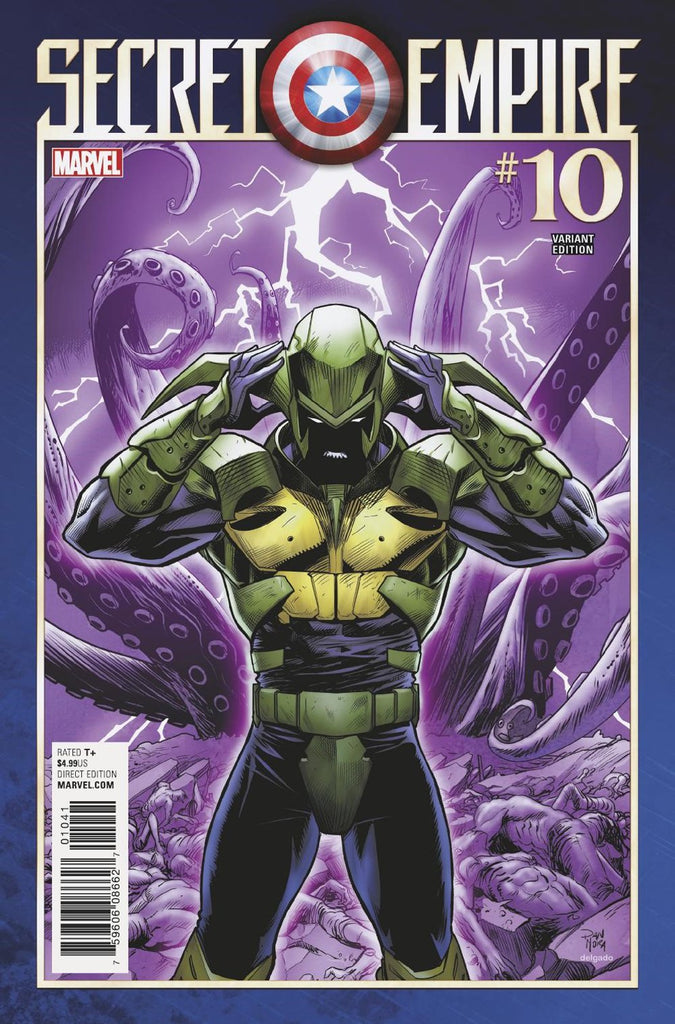 SECRET EMPIRE #10 (OF 10) MORA VILLAIN VAR SE COVER