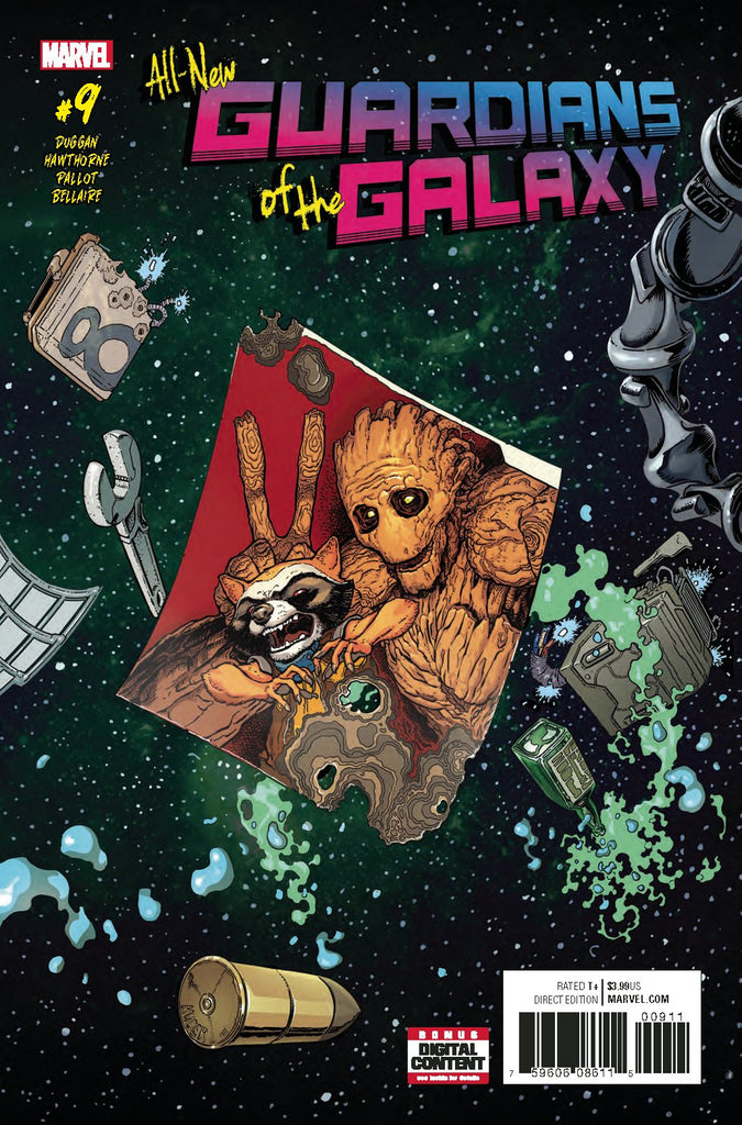 ALL NEW GUARDIANS OF GALAXY #9 COVER