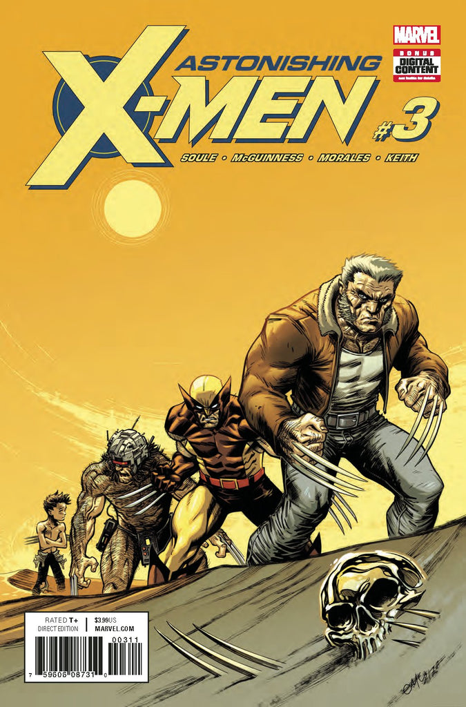 ASTONISHING X-MEN #3 COVER