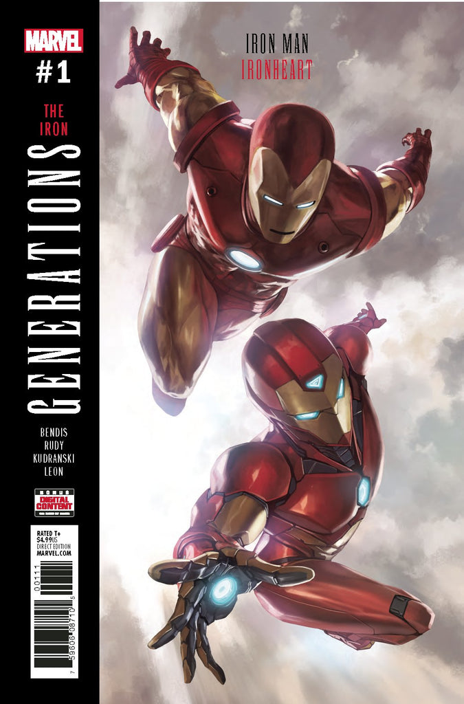 GENERATIONS IRON MAN & IRONHEART #1 COVER