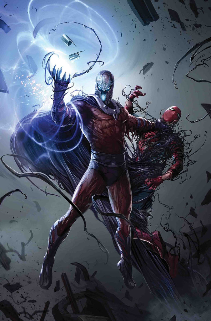ASTONISHING X-MEN #3 VENOMIZED MAGNETO VAR COVER