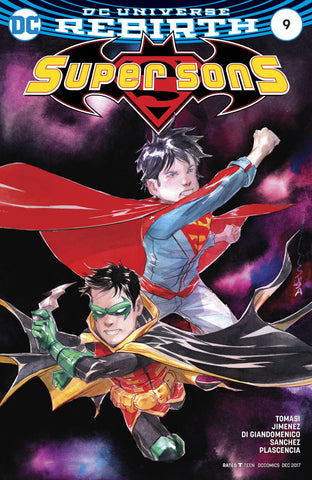 SUPER SONS #9 VAR ED COVER