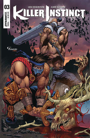 KILLER INSTINCT #3 CVR C ADAMS EXC SUBSCRIPTION VAR COVER