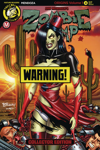 ZOMBIE TRAMP ORIGINS #4 CVR D MCKAY RISQUE (MR) COVER