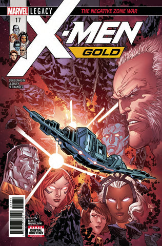 X-MEN GOLD #17 LEG COVER