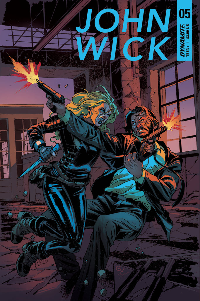 JOHN WICK #5 (OF 5) CVR A VALLETTA COVER