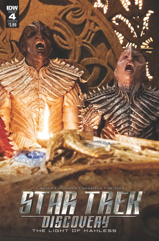 STAR TREK DISCOVERY #4 CVR B PHOTO COVER