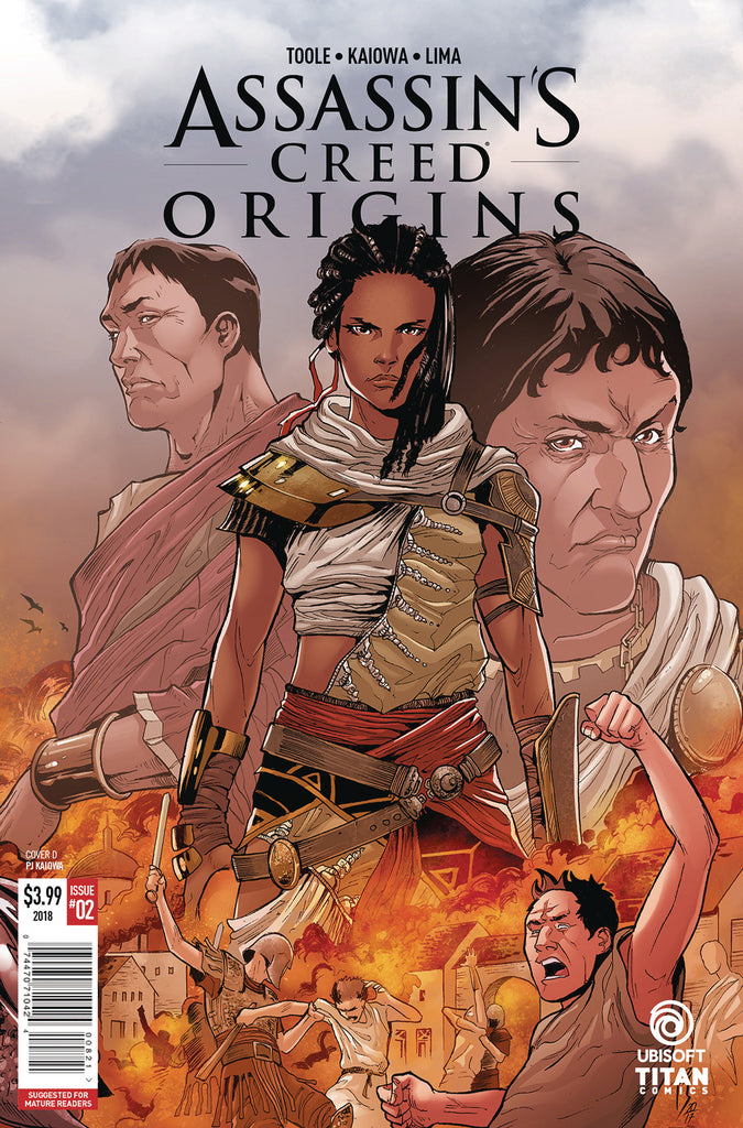 ASSASSINS CREED ORIGINS #2 (OF 4) CVR A KAIOWA COVER