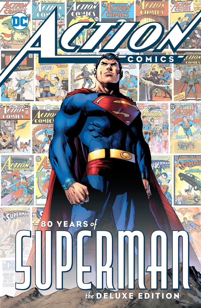 ACTION COMICS 80 YEARS OF SUPERMAN HC COVER