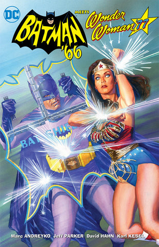 BATMAN 66 MEETS WONDER WOMAN 77 TP COVER