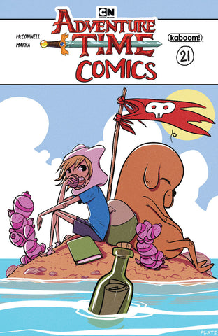 ADVENTURE TIME COMICS #21 SUBSCRIPTION PLATI VAR COVER