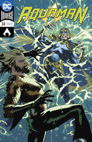 AQUAMAN #34 VAR ED COVER