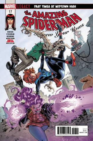 AMAZING SPIDER-MAN RENEW YOUR VOWS #17 LEG COVER