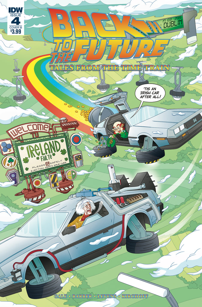 BACK TO THE FUTURE TIME TRAIN #4 CVR B MURPHY COVER