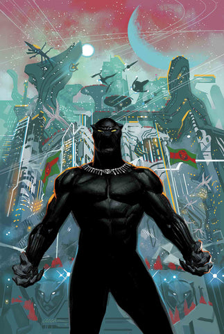 BLACK PANTHER #1 2018 COVER