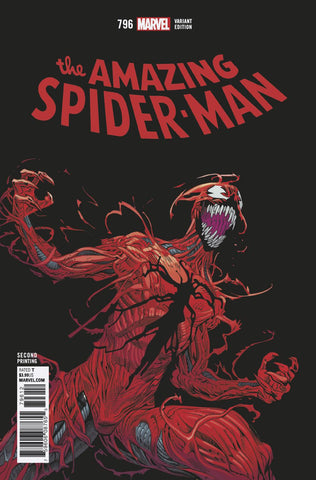 AMAZING SPIDER-MAN #796 2ND PTG HAWTHORNE VAR LEG COVER