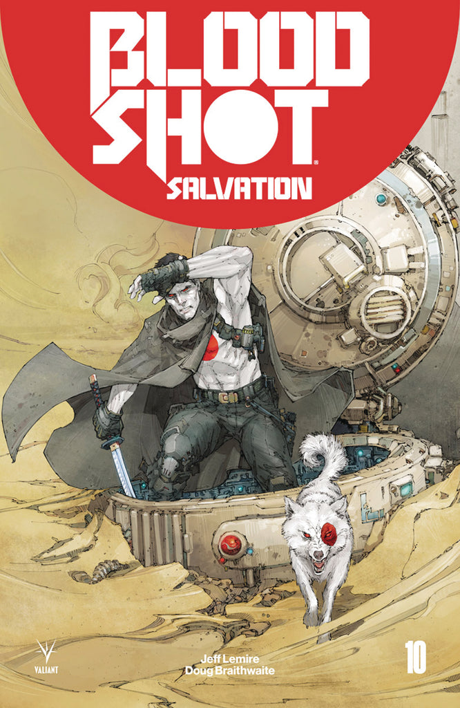 BLOODSHOT SALVATION #10 (NEW ARC) CVR A ROCAFORT COVER