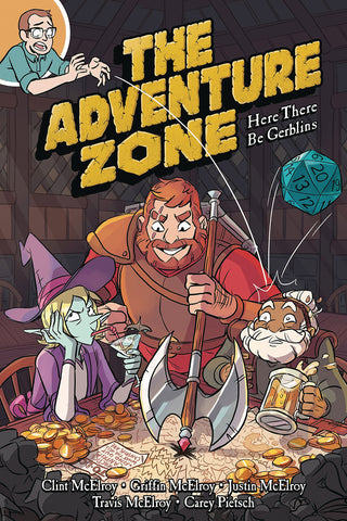 ADVENTURE ZONE GN VOL 01 HERE THERE BE GERBLINS COVER