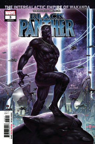 BLACK PANTHER #3 COVER