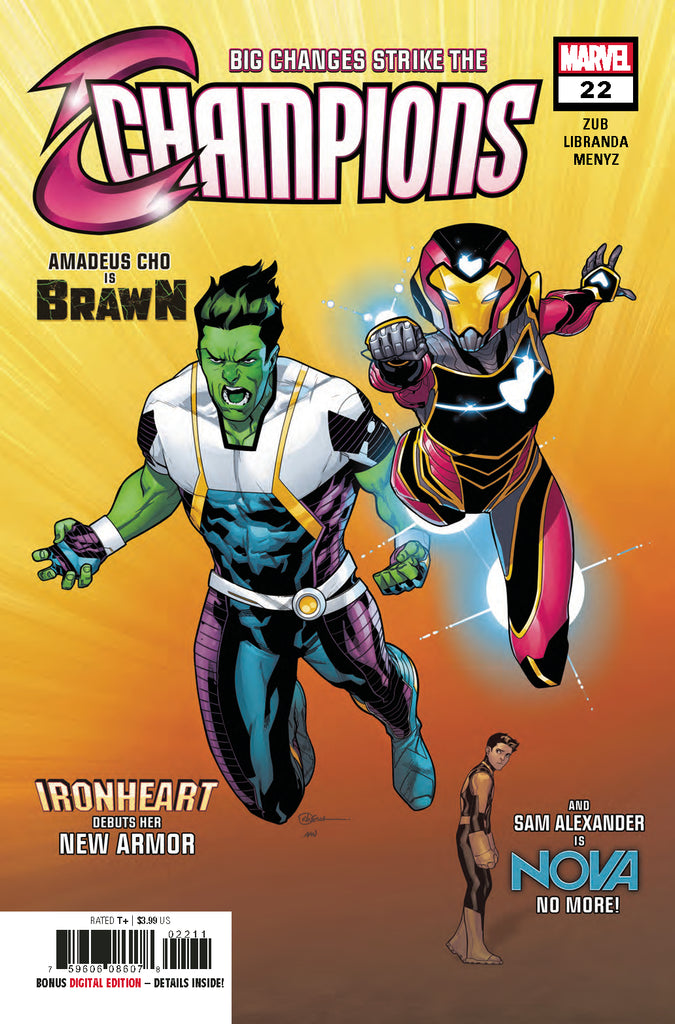 CHAMPIONS #22 COVER