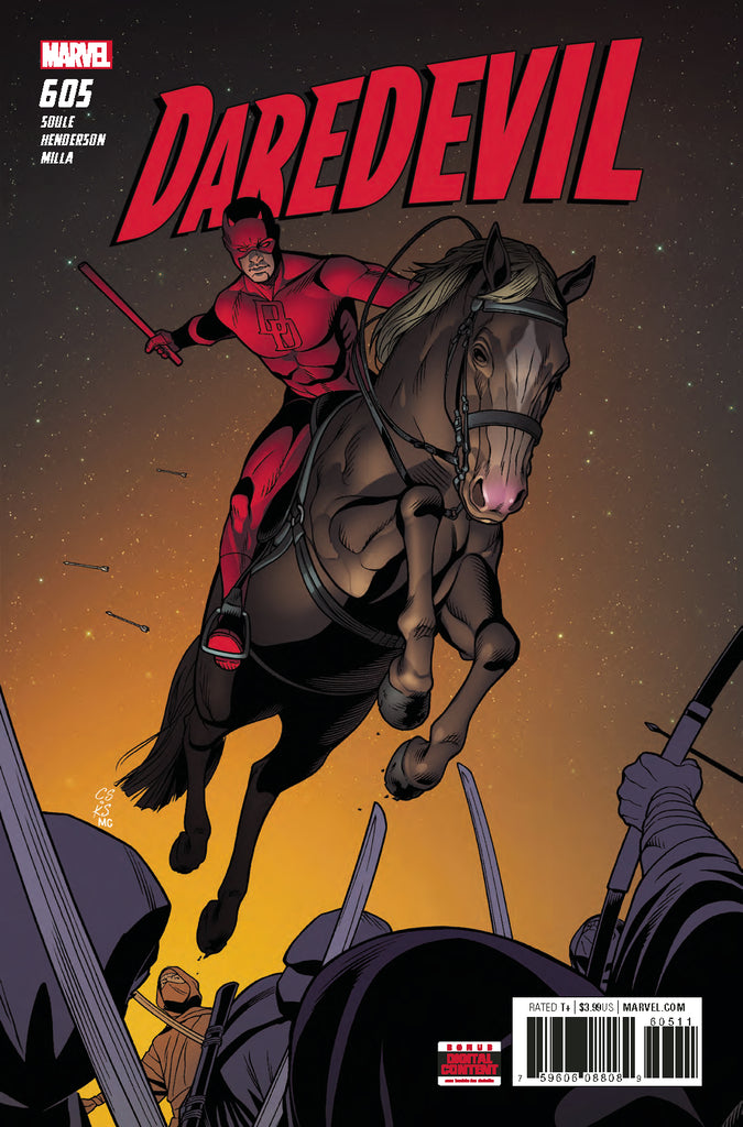 DAREDEVIL #605 COVER