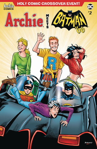 ARCHIE MEETS BATMAN 66 #2 CVR B BURCHETT COVER