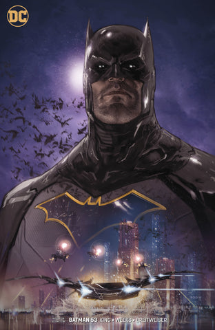 BATMAN #53 VAR ED COVER