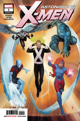 ASTONISHING X-MEN ANNUAL #1 COVER