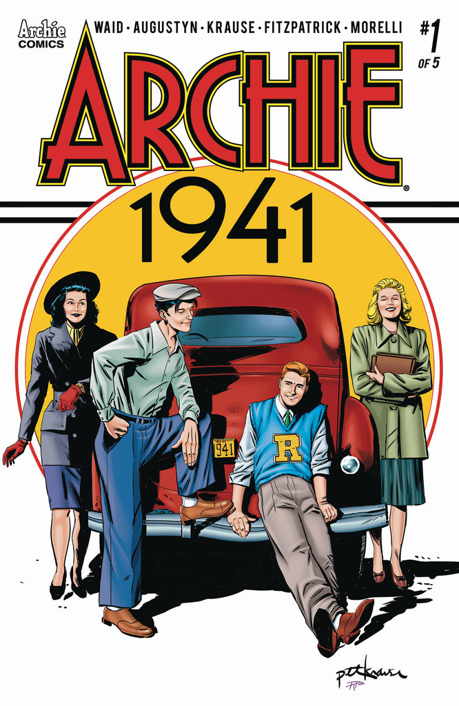 ARCHIE 1941 #1 (OF 5) CVR A KRAUSE COVER