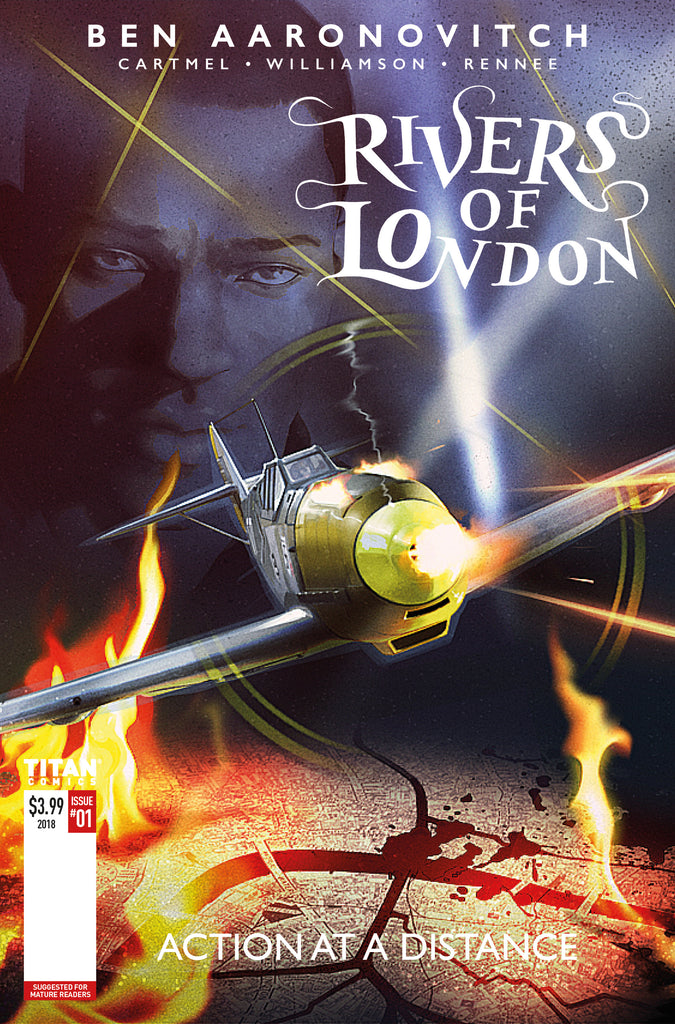 RIVERS OF LONDON #1 (OF 4) ACTION AT A DISTANCE (MR) COVER