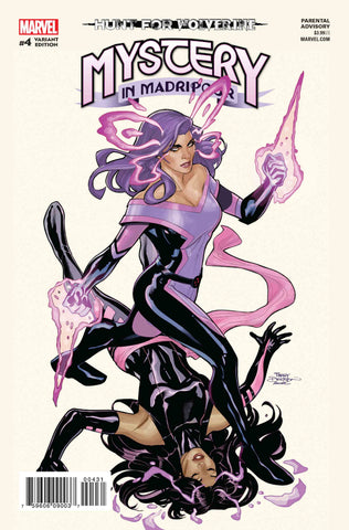 HUNT FOR WOLVERINE MYSTERY MADRIPOOR #4 (OF 4) SPOILER VAR COVER