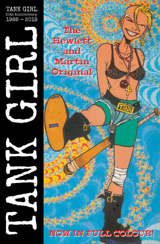 TANK GIRL FULL COLOR CLASSICS 1989-1990 #2 CVR B HEWLETT COVER