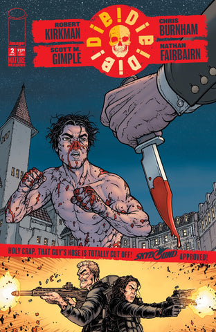 DIE DIE DIE #2 (MR) COVER