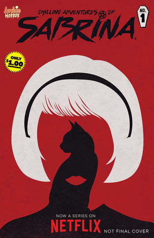 CHILLING ADV OF SABRINA #1 REPRINT (MR) COVER