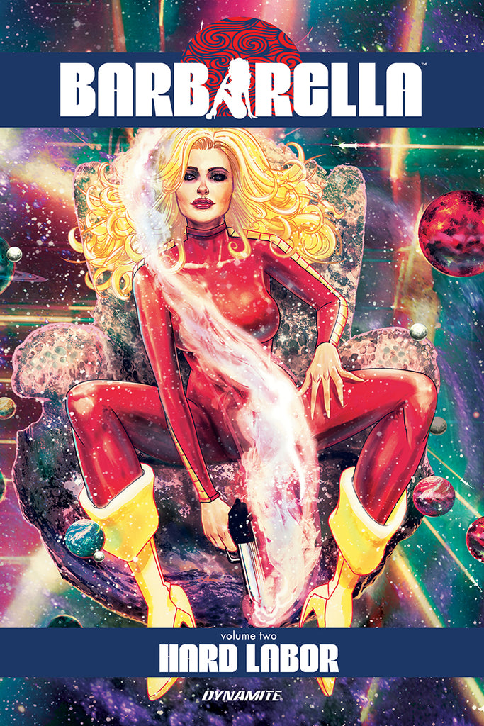 BARBARELLA TP VOL 02 HARD LABOR (MR) COVER