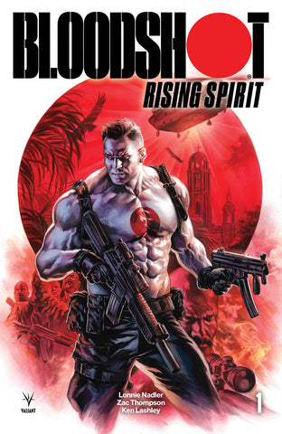 BLOODSHOT RISING SPIRIT #1 CVR A MASSAFERA COVER